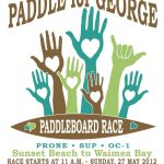 paddle for george flyer