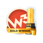 w3 gold winner logo