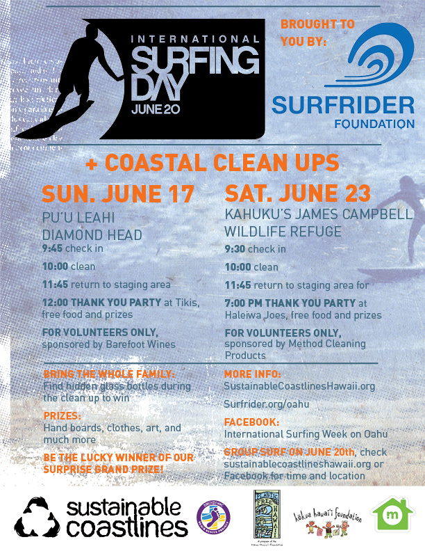 Coastal cleanup flyer